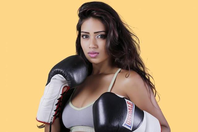 Actress Nivetha Pethuraj Latest Hot Photo Stills