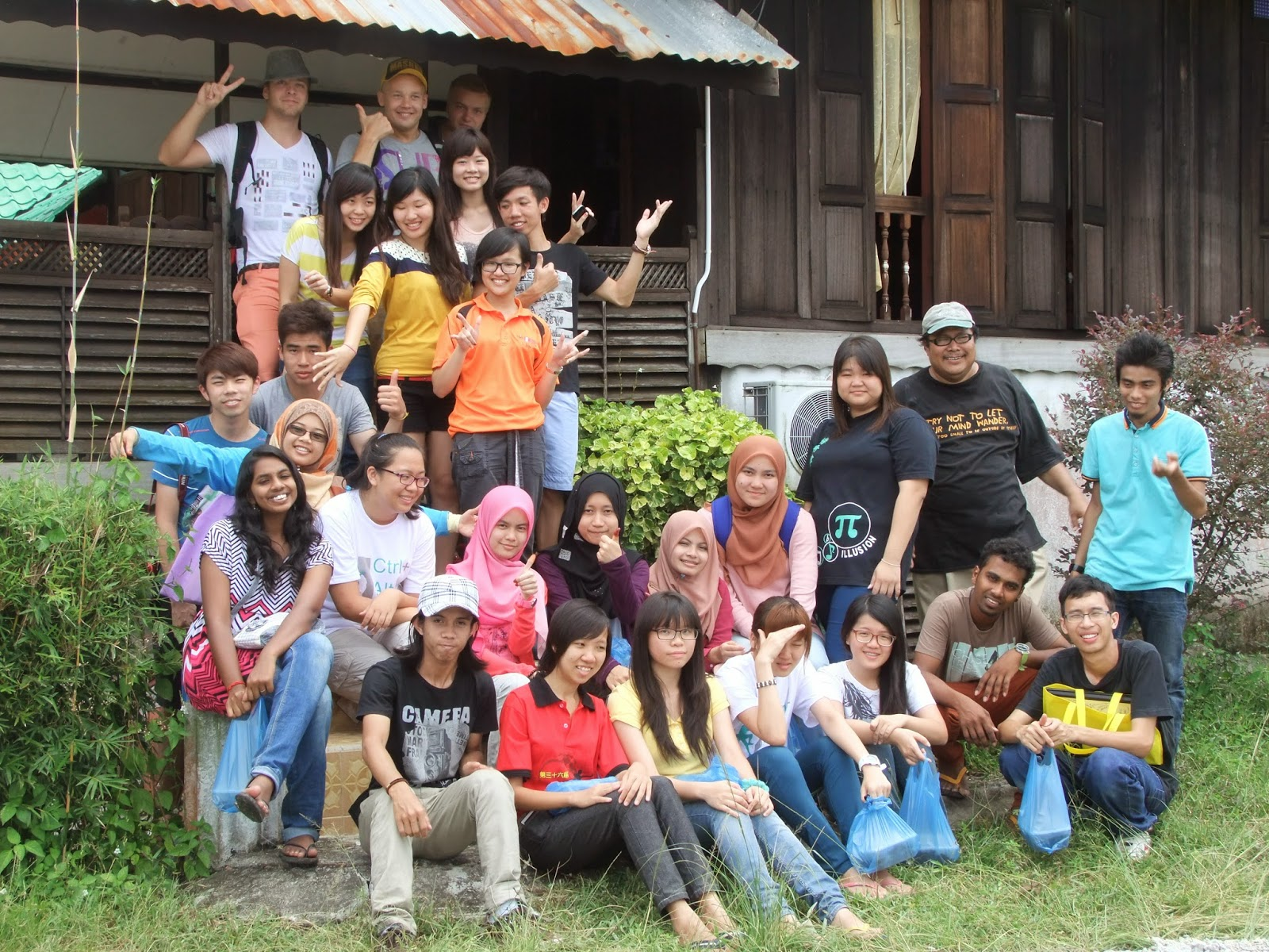 Visit To Kota Aur Homestay By USM Year 2 Interior Design Students Together With Universiti Sains Malaysia Exchange From Finland October 2013