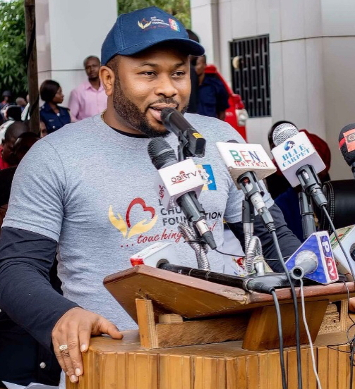 Olakunle Churchill Donates New Mercedes Benz Ambulances,Fire Extinguishers To Abuja Fire Service - NaijaGistsBlog Nigeria, Nollywood, Celebrity ,News, Entertainment, Gist, Gossip, Inspiration, Africa