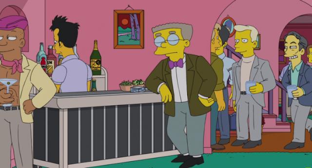 Smithers ale del clóset en el nuevo episodio de Los Simpson