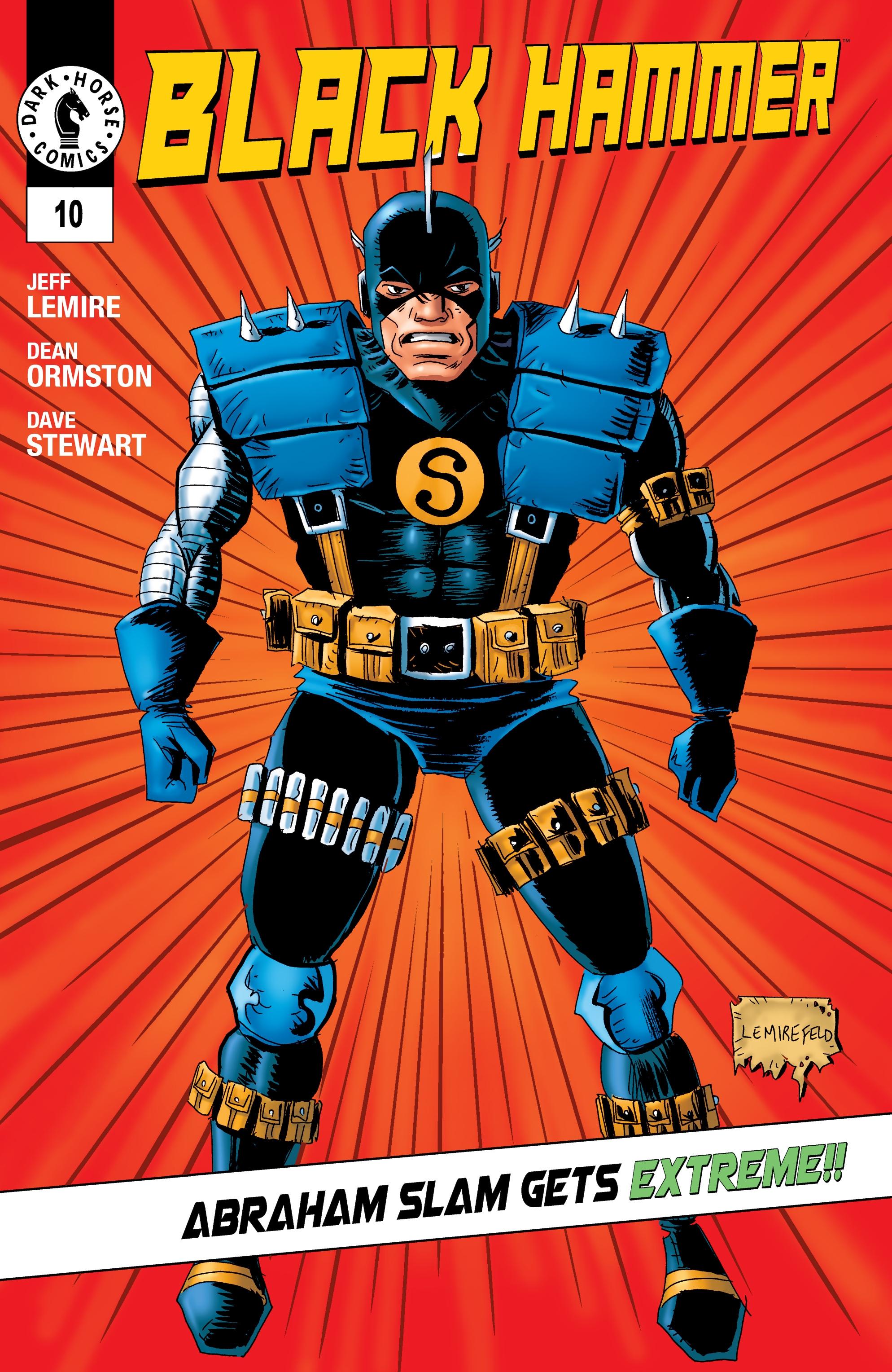 Read online Black Hammer comic -  Issue #10 - 2