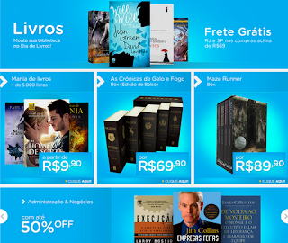 Promoção de livros