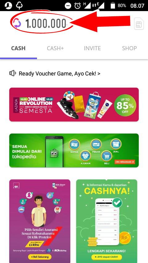 Trik Curang Hack Cashtree Mod Saldo Cash 1 Juta Gratis 2018 - Pulsa Gratis Mod