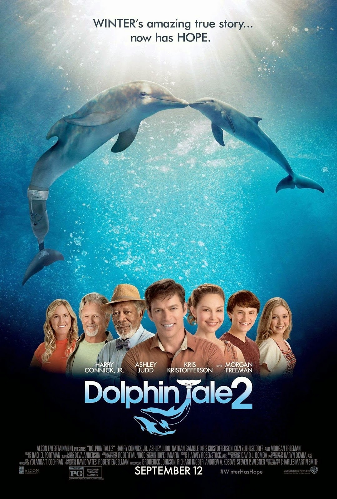 Dolphin Tale 2 Review The Film Gives Us Hope Sandwichjohnfilms