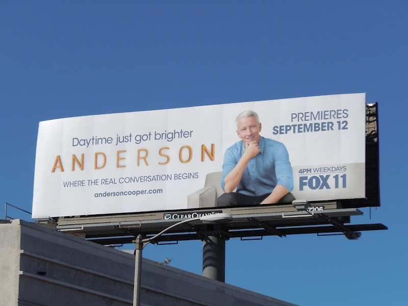 Anderson TV billboard
