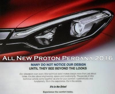 Harga, Variant & Spesifikasi Proton Perdana 2016