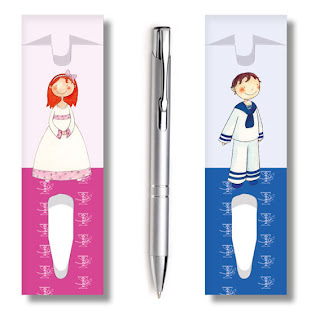 fundas para bolígrafos comuniones