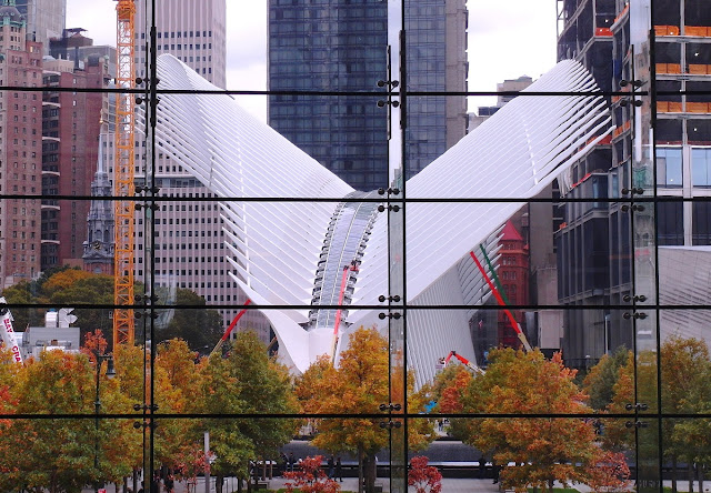 New York, WTC transportation hub