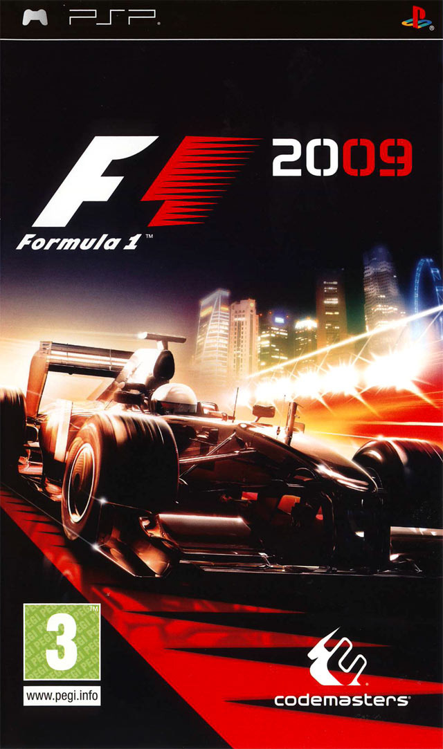 F1 2009 - PSP - ISO Download