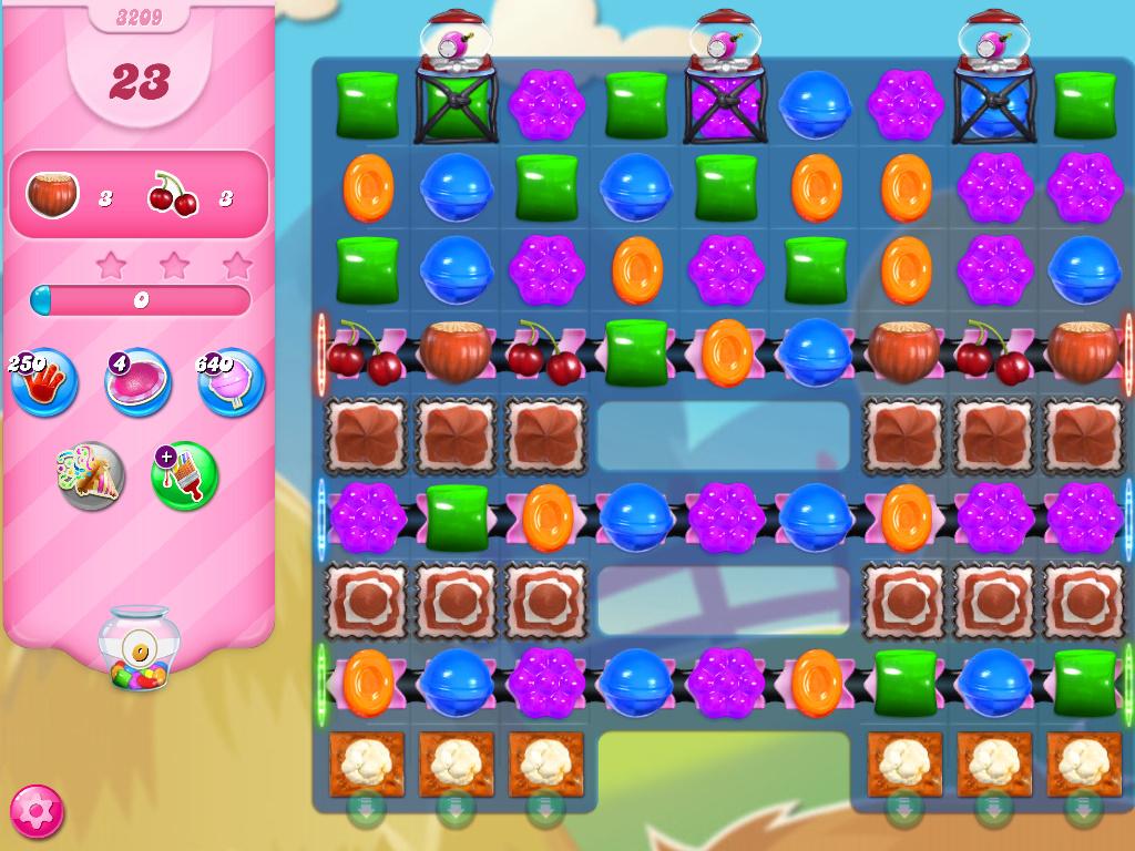 Candy Crush Saga level 3209