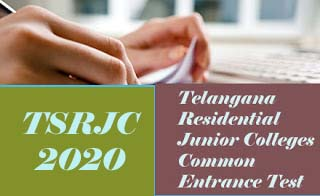 TSRJC 2020 Notification, Exam date, Online Application form, Eligibility