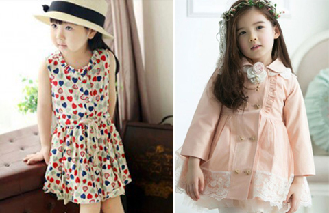 baju dress anak korea