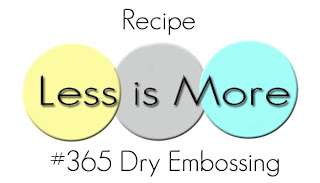 +++Challenge #365 - 7th Birthday: CAS Dry Embossing до 02/03