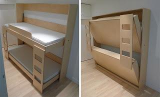 Diseño de cama y sillón