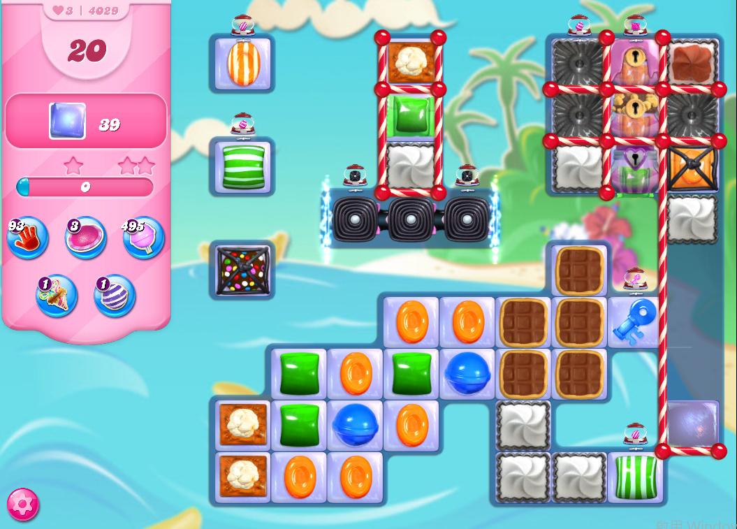 Candy Crush Saga level 4029