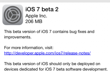 ios 7 beta 2,ios 7,apple ios,developers