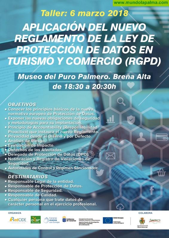 ADER La Palma y la Red CIDE organizan un taller para dar a conocer la nueva normativa europea de protección de datos