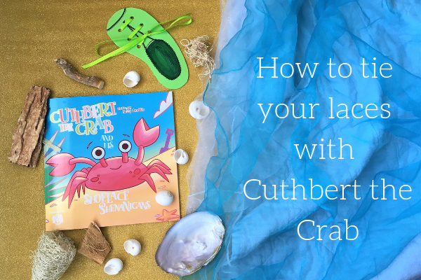 How to tie your laces with cuthbert the crab