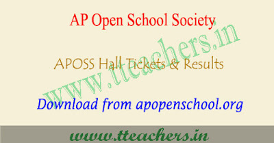 APOSS inter hall tickets 2017-2018 ap open school results