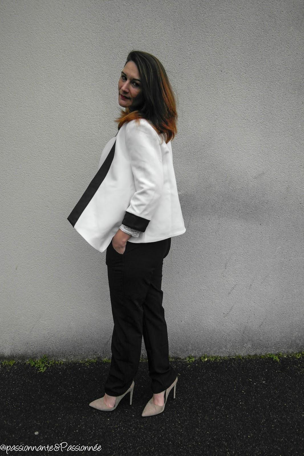 blazer asymétrique