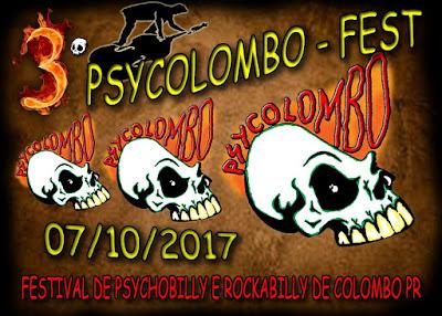3º Psycolombo Fest - Confirmada a 3ª Edição do Evento