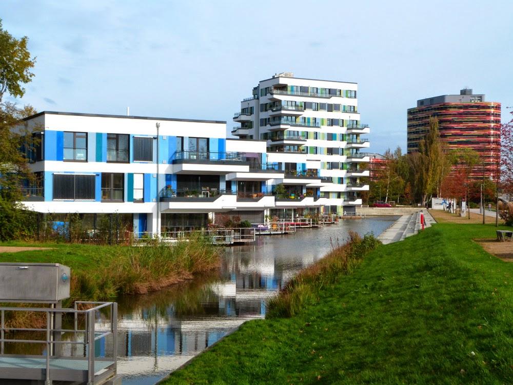 Architektur auf dem IBA Gelände Hamburg