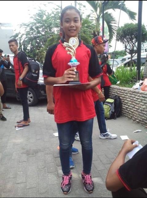 Siswi SMK Persiapan Wakili Sumatera Utara di Ajang O2SN Tingkat Nasional di Jakarta