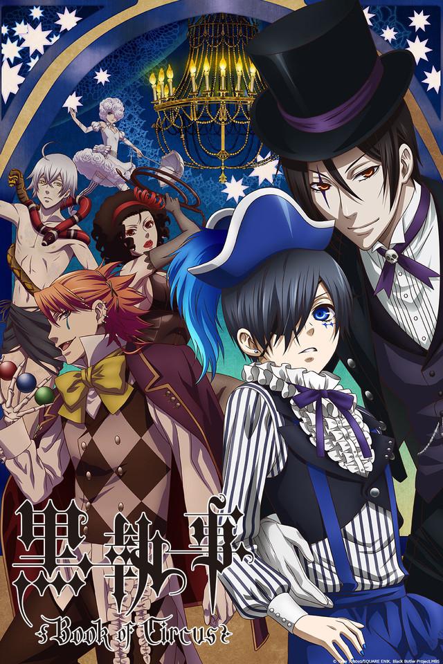 cover anime Kuroshitsuji: Book of Circus