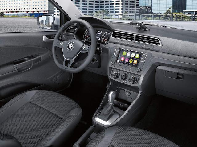 VW Gol 2019 Automático - interior