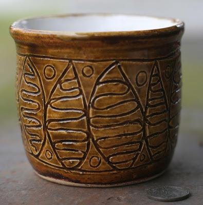 celadon glazed pots