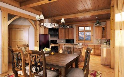 12 Desain Interior Rumah Kayu Modern Terbaik Desain