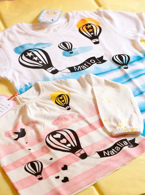 camisetas bebe pintadas a mano