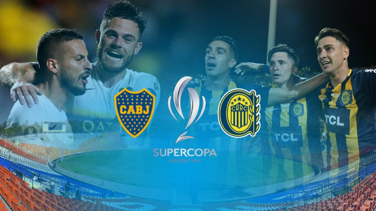 Boca-Central: afiche de la Copa de la Superliga