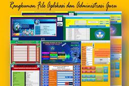 File - File Aplikasi dan Administrasi Guru Lengkap Format Excel