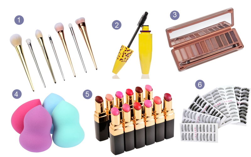 akcesoria do makijażu dresslink, dresslink makeup, dresslink brushes,