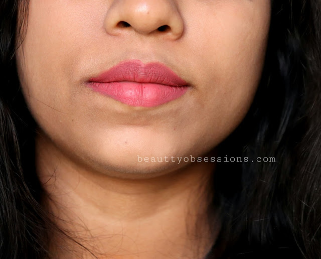 after a really long gap I am going to review a lip product NYX Soft Matte Lip Cream 'Cannes' Review & Swatches