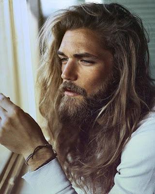 peinado de jesus cabello largo