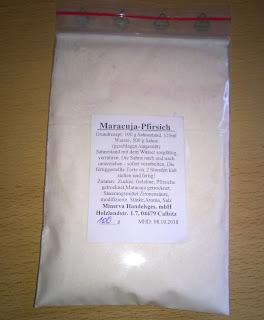 Sahnestand Maracuja-Pfirsich