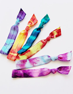 Tie Dye Hair Ties by Lucky Girl