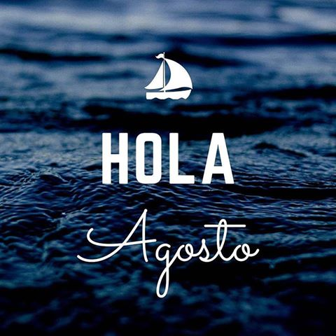 hola agosto - August 2016 Calendar Wallpaper