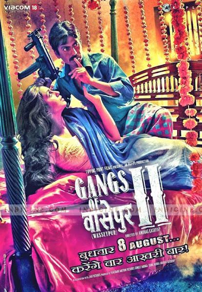 Poster Of Gangs of Wasseypur Part 2 (2012) 720p Hindi BRRip Full Movie Download