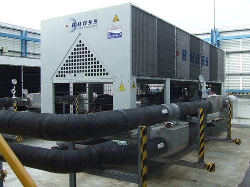 Máy lạnh trung tâm chiller giải nhiệt nước, giải nhiệt gió