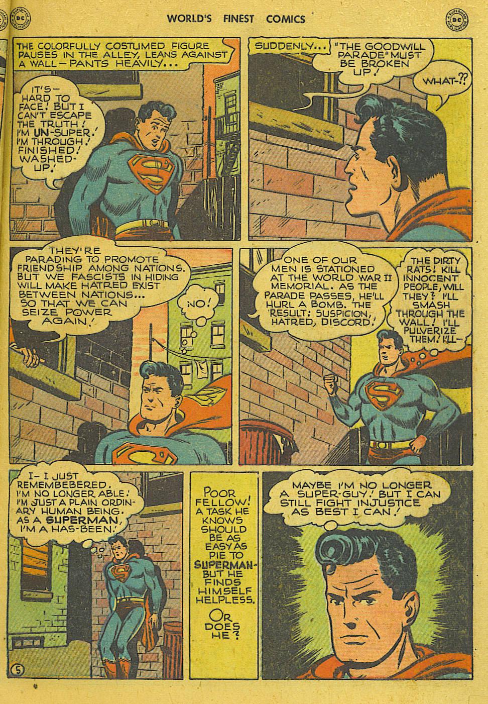 Read online World's Finest Comics comic -  Issue #34 - 7