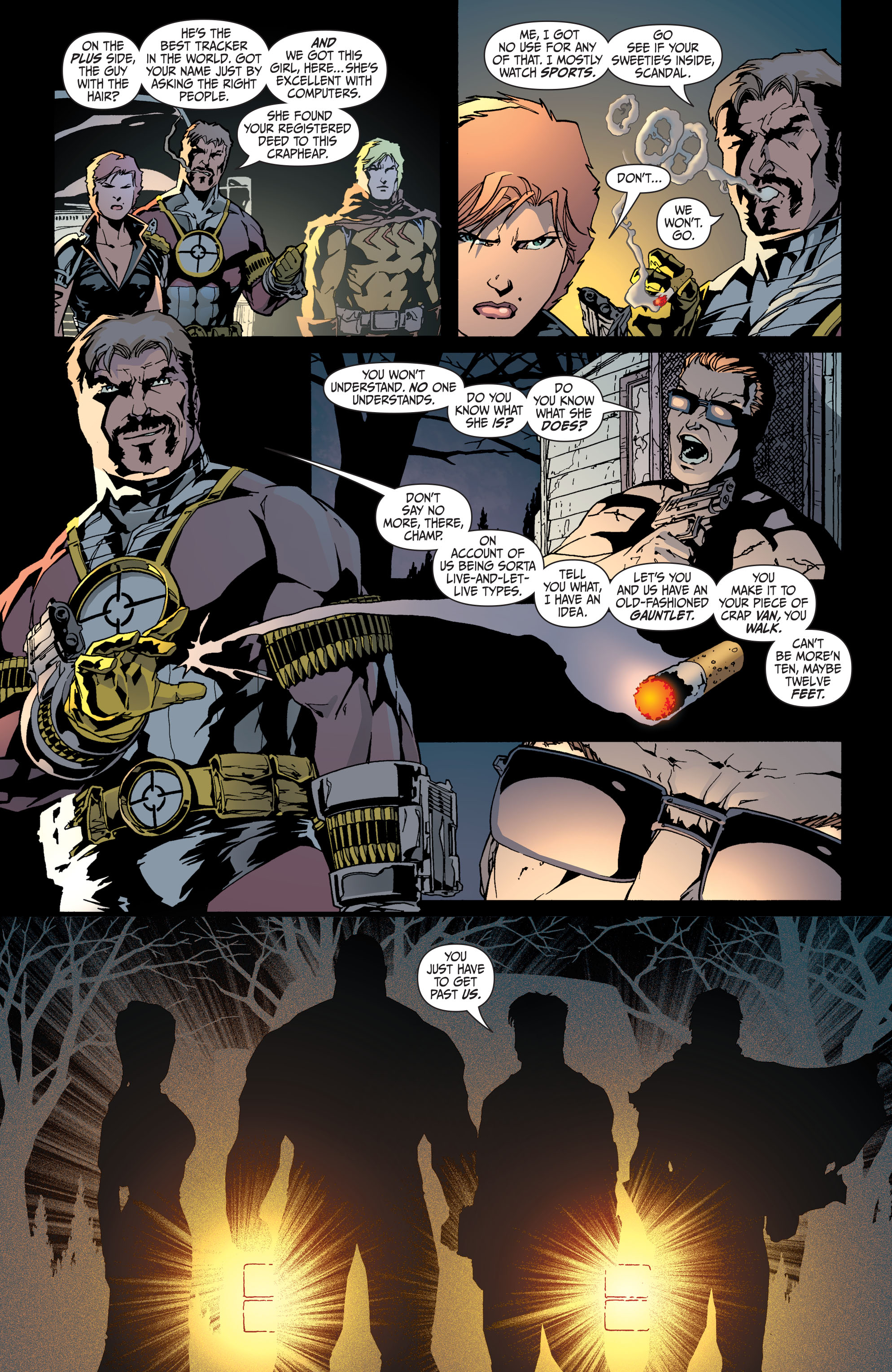 Read online Secret Six (2008) comic -  Issue #34 - 6