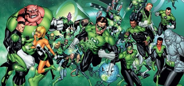 Geoff Johns estará produzindo uma série dos Lanternas Verdes para o HBO Max