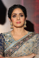 Sri Devi in designer saree stunning beauty at the launch of MOM movie Trailer~  Exclusive 010.JPG