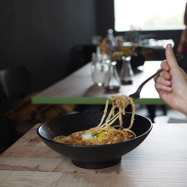 Miso Brown Butter Linguine - S$15.80