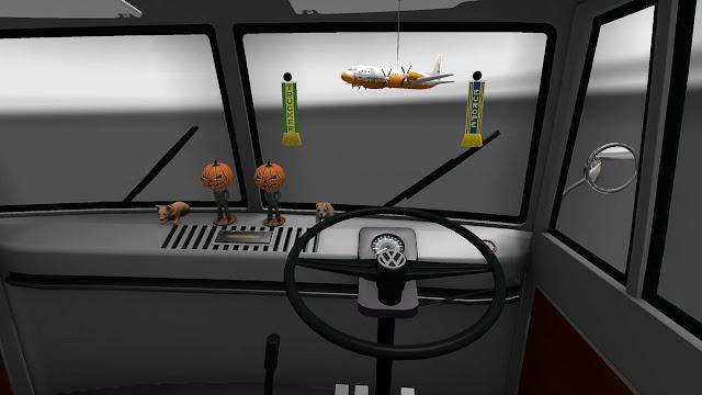 Mod Mobil VW Combi  ETS2 Interior