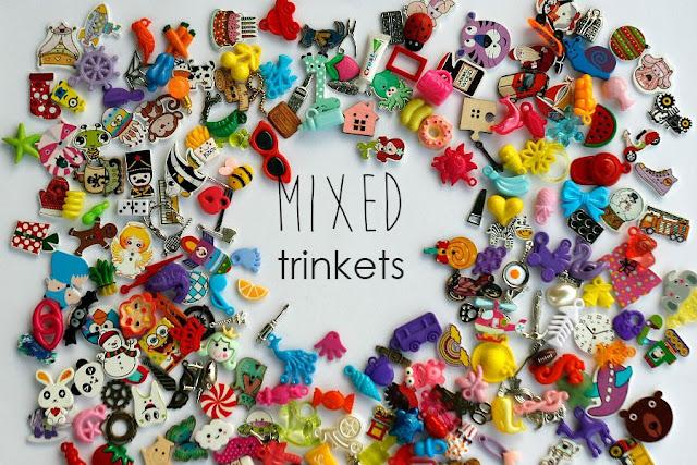 Medium Mixed I Spy trinkets for I spy bag/ bottle, Speech therapy, no doubles, Medium size 2-4cm Size M