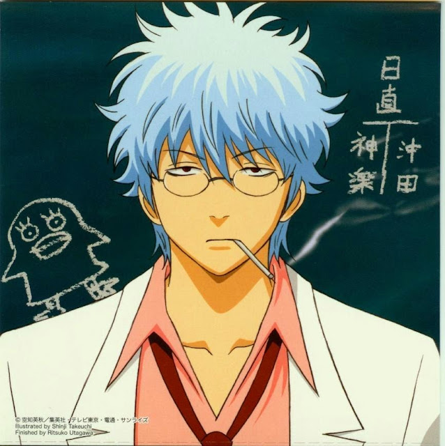 Ginpachi-sensei - Top anime Guru paling ideal menurut Charapedia
